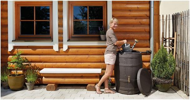 Barrica Regenfass - Regenwasserbehälter als Designerstück